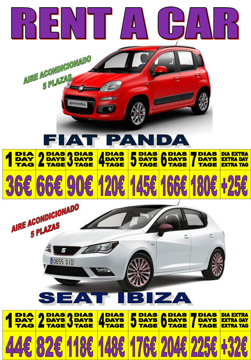 CARTEL COCHES 90 2019 1